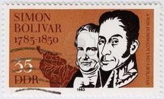 Avon Humboldt and Simon Bolivar (R), 1983