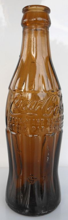 '40s Amber Coca-Cola Bottle  Sanford, FL