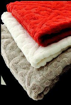 Eco-luxe bath linens  -Nandina
