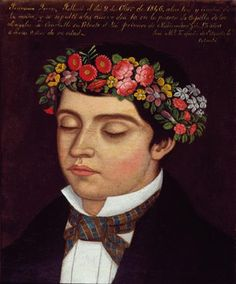 José María Zepeda de Estrada, Retrato de Francisco Torres, 1846 © Museo Nacional de Arte, INBA