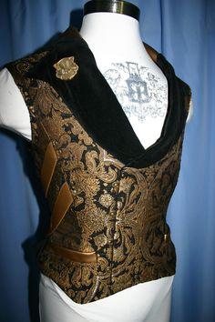 Beautiful corseted vest.