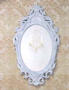 DECORATIVE VINTAGE MIRRORS For Sale Shabby Chic by RevivedVintage, $162.00