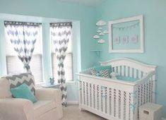baby boy Nursery   Diary of a Fit Mommy: Nursery Ideas for Boys Chevron and Aqua