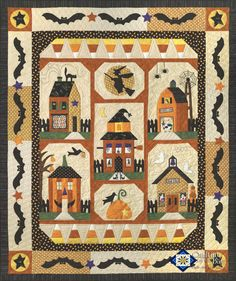Sew Spooky from Quilting by the Bay. Pretty cute!