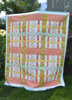 Pretty Plaid Quilt Pattern