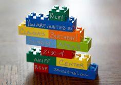 Lego birthday invitations birthday party invitations, lego invit, birthday parties, lego parti, birthday invitations, lego birthday, legos, parti idea, kid