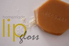 Homemade Beeswax Lip Gloss