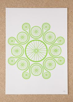 Chain Reaction Screen Print by Sold