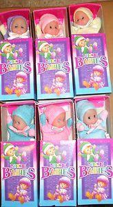 Sweet Baby William matchbox beany dolls...