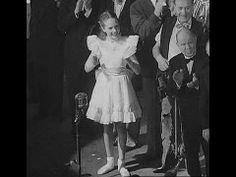 Julie Andrews (Aged 13) Sings for King George VI in 1948 [HD]