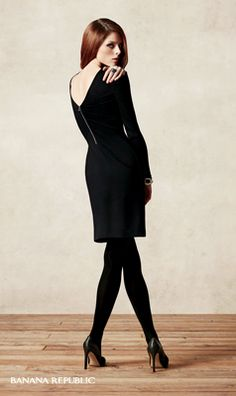 Fall Trend tip: An exposed zipper running up the back of a pencil skirt or an otherwise simple dress--sizzling!