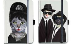 20 Royal Dogs and Cat Pictures - Animalistic Notebooks with Celebrity Status