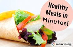 Tons of fast and easy #lunch ideas that are actually good for you! | via @SparkPeople