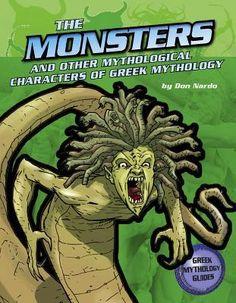 books, ancient greek, mytholog creatur, don nardo, mytholog ancient, monsters, greek mythology