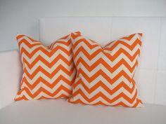 FALL SALE - Pillow Covers - Orange Pillows - Pillow Covers - Throw Pillows Decorative Pillow Covers - 20x20