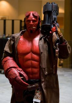 Hellboy. Curated by Suburban Fandom, NYC Tri-State Fan Events: http://yonkersfun.com/category/fandom/