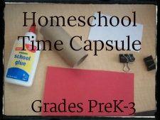 Enchanted Homeschooling Mom: Homeschool Time Capsule