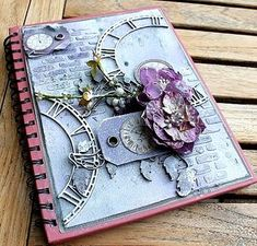 Delicious!! LOVE this to pieces! @petaloo  @coredinations #diy #alteredjournal
