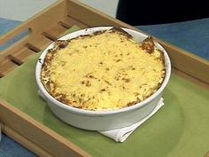 Lasagna vegetariana ... por Narda Lepes