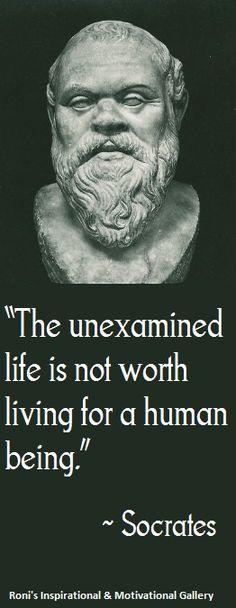 essays on socrates unexamined life
