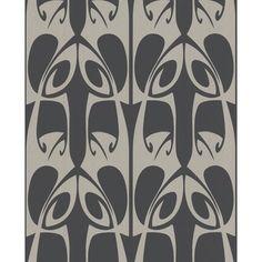 Graham & Brown Hula Wallpaper by Barbara Hulanicki