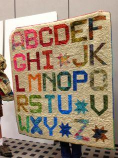 "Moda's ""Spell it with Fabric"" Blog Hop | Denise Clason Studios using Jelly Bean Batiks"