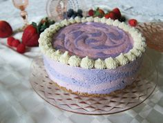 Raw Vegan Beautiful Berry Dream Cake
