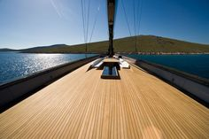 Wally Sailing Yacht Deck