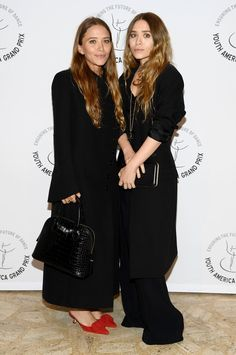 Mary-Kate (left) and Ashley Olsen