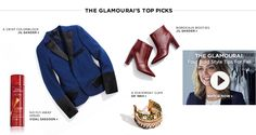 The Glamourai's Top Picks for this season. Up to 60% off on MyHabit!