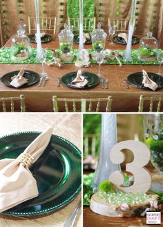 | Garden Glam Wedding featuring Terrariums | http://soiree-eventdesign.com/blog