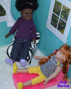 Easy bonus chair for dolls