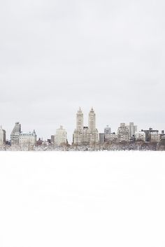 Snowland {Central Park, NY} by Ilenia Martini, via Flickr