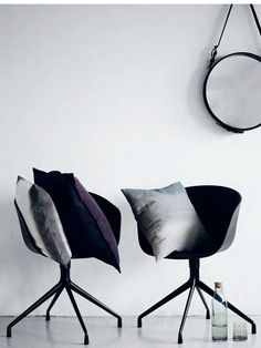 A faded palette: January 2013 mirror, decor, interior, chairs, hay, inspir, furnitur, pillows, design