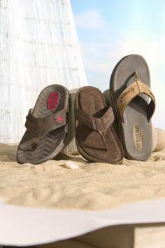Ready for the beach in our Sperry flipflops!  #Belk #Shoes #Sperry