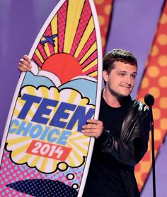 Thank you for voting and awarding #TheHungerGames: #CatchingFire 4 Teen Choice Awards, including 'Choice Movie - Sci-Fi/Fantasy,' 'Choice Movie Actor - Sci-Fi/Fantasy' - Josh Hutcherson, 'Choice Movie Actress - Sci-Fi/Fantasy' - Jennifer Lawrence, and 'Choice Movie Villain' - Donald Sutherland!