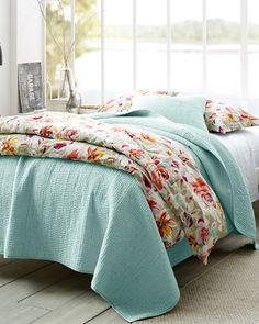 Our Dream Quilt is ideal for all season comfort. Add our floral flannel bedding as another layer during cooler temperatures.