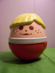 Talk about a blast from the past! Weebles wobble but they don't fall down :-)  I LOVED these when I was little!