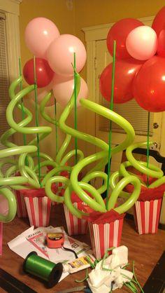 Kids Party Centerpieces