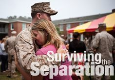 Whether your Marine is in boot camp or deployed, here's your guide to surviving the separation.