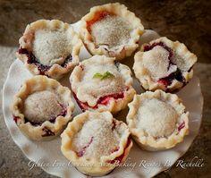GF Blueberry Strawberry Mini Pies