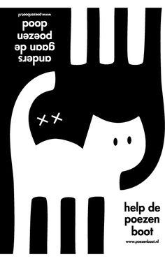Poezenboot #poster #cats
