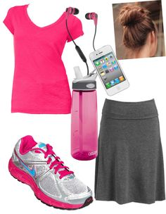 """""""let's get fit"""" by holiness-preachers-wife ❤ liked on Polyvore"""