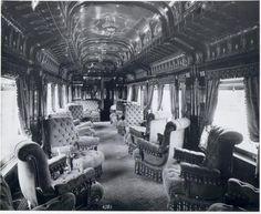 Interior Pullman Train