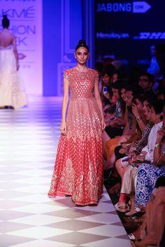 Anarkali by Anita Dongre at Lakme Fashion Week 2014