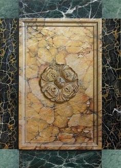 Marc - 4 marble panel
