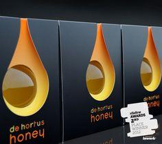 honey packaging - Dieline awards