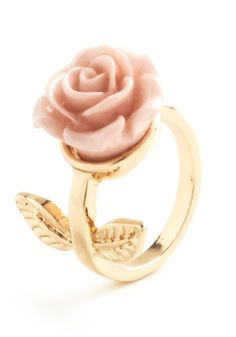 Retro Rosie Ring in Leaves, #ModCloth