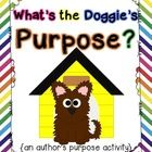 This freebie is for a fun way to review authors purpose with your students! Included are three letters from different doggies, one written to ente...