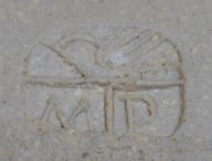 Miranda Thomas Pottery, Vermont - MP mark MPT mark bird mark